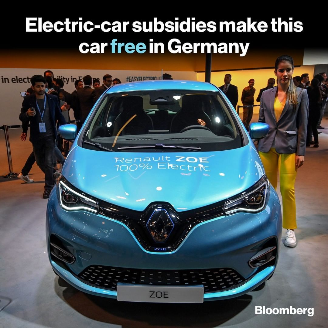 Electric cars, no charge. Car buyers in Europe can now get