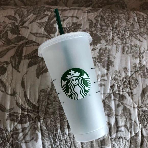 Reusable Starbucks Venti Cold Cup