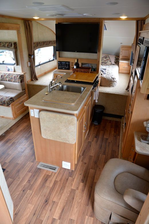 Chalet Rv Pushes The Limits With Ts116 Triple Slide Truck Camper