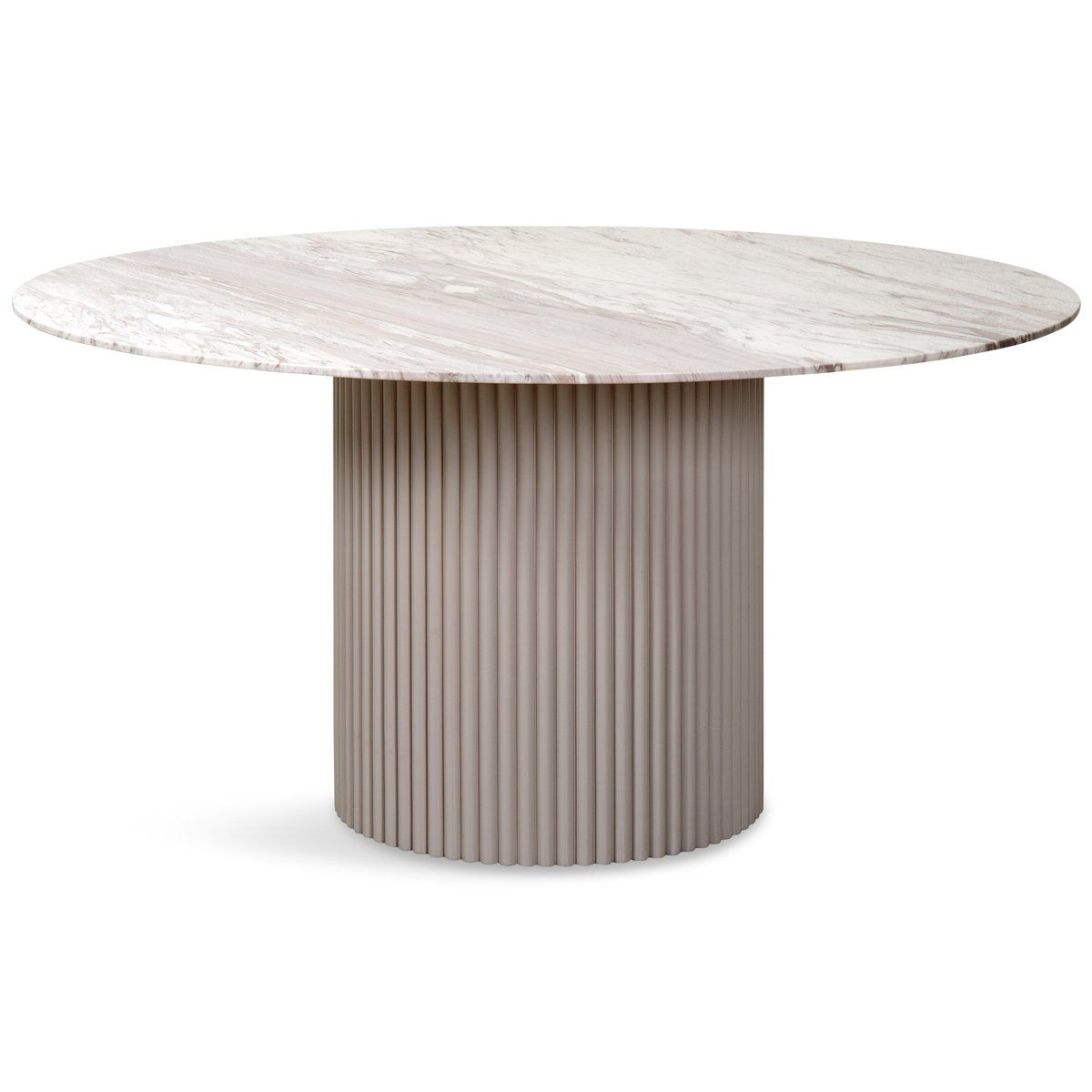 Ubud Round Dining Table In 2021 Round Marble Dining Table Dining Table Marble Round Dining Table