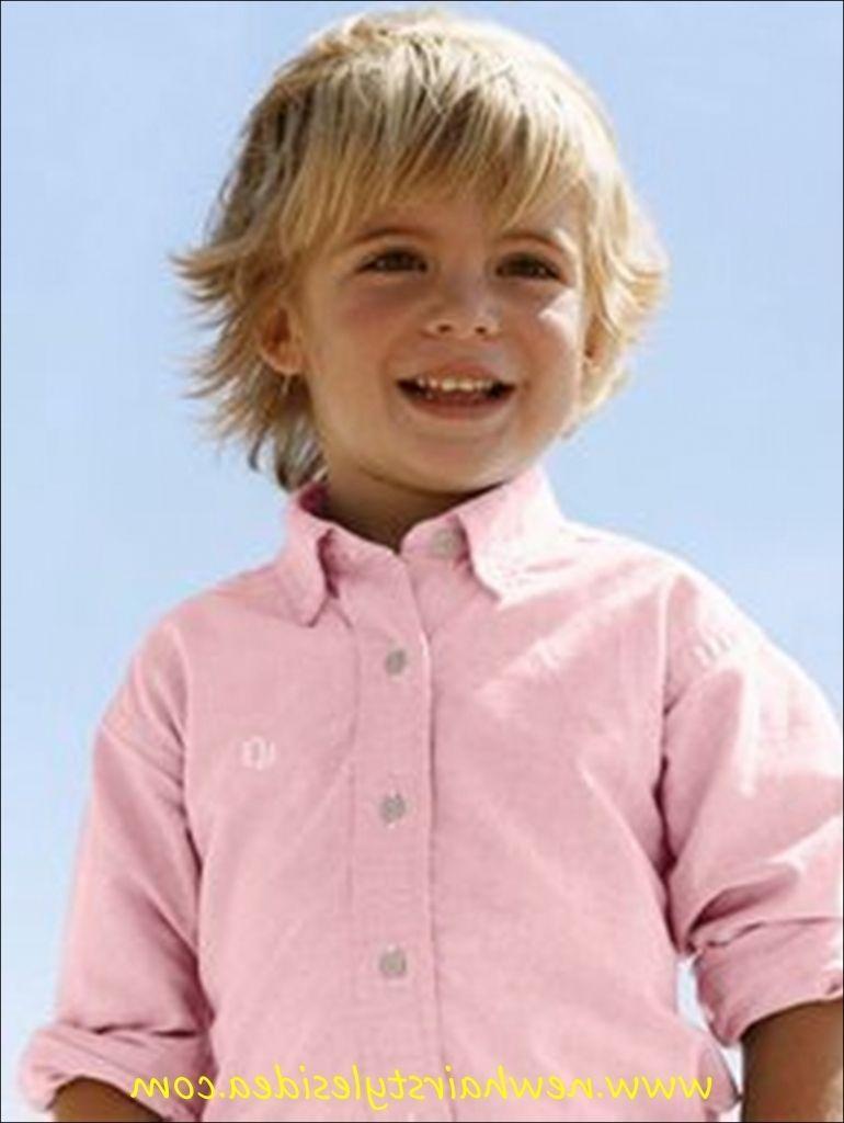 Kleine Jungs Frisuren Lange Haare  Toddler hairstyles boy