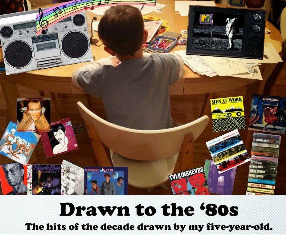 Drawn to the 80's (With images) Safety dance, Drawing