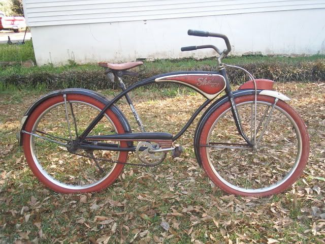 1953 Shelby Traveler Dave S Vintage Bicycles Vintage Bicycles Bicycle Retro Bicycle