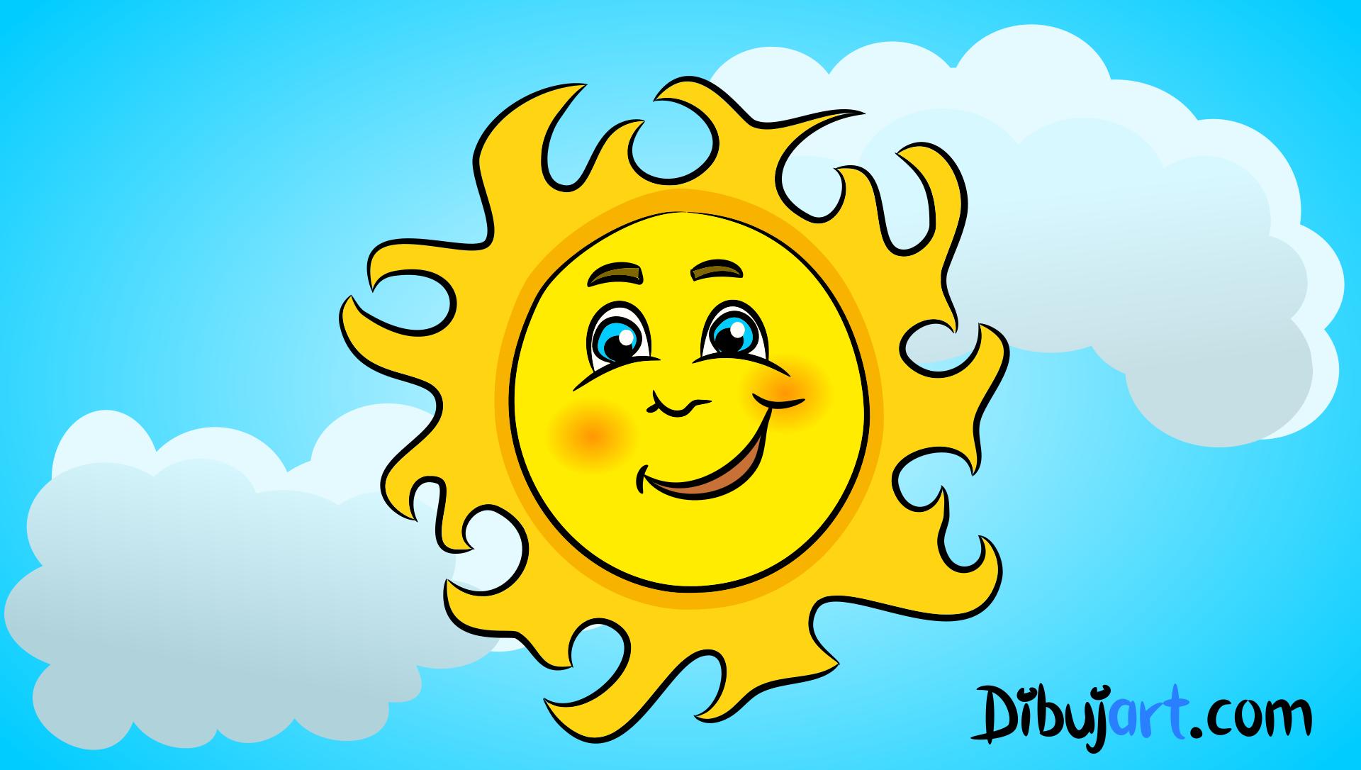Como Dibujar Un Sol Sol Para Dibujar Como Dibujar Disenos De Letras
