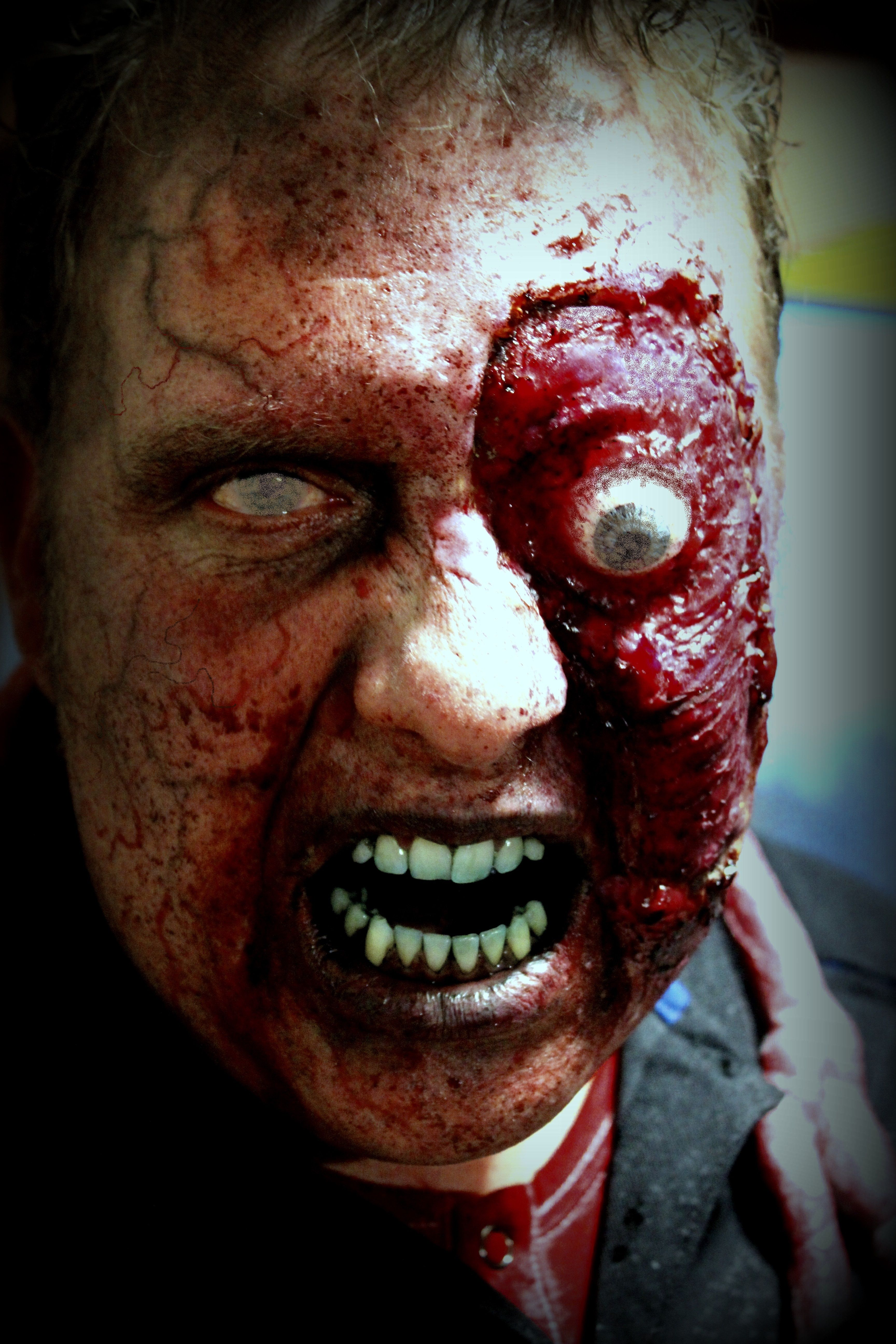 """""""Out of Kit"""" zombie FX makeup By Rhonda Causton(Reel"""