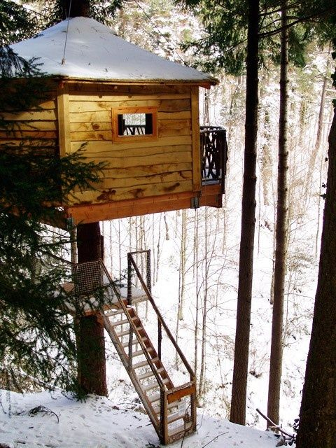 Fin de semana en tree house hotel room at cabanes als arbres in the catalan region of spain - Hotel casa arbol espana ...