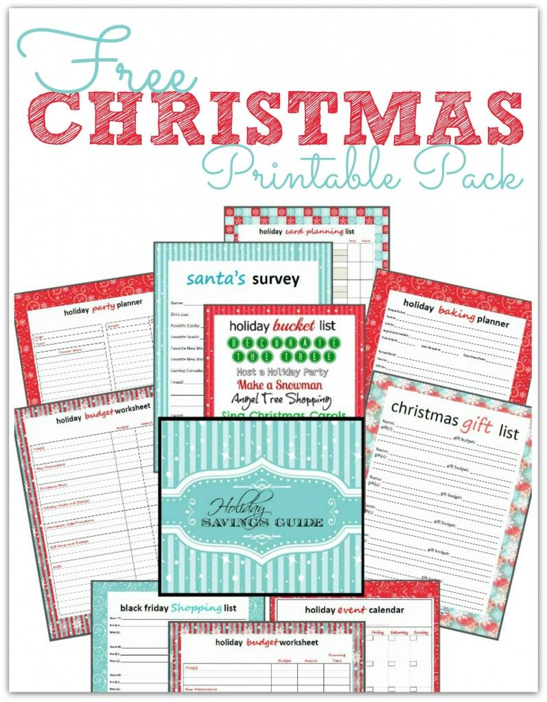 Free Christmas Printables On Pinterest | the FREE Holiday Printables ...