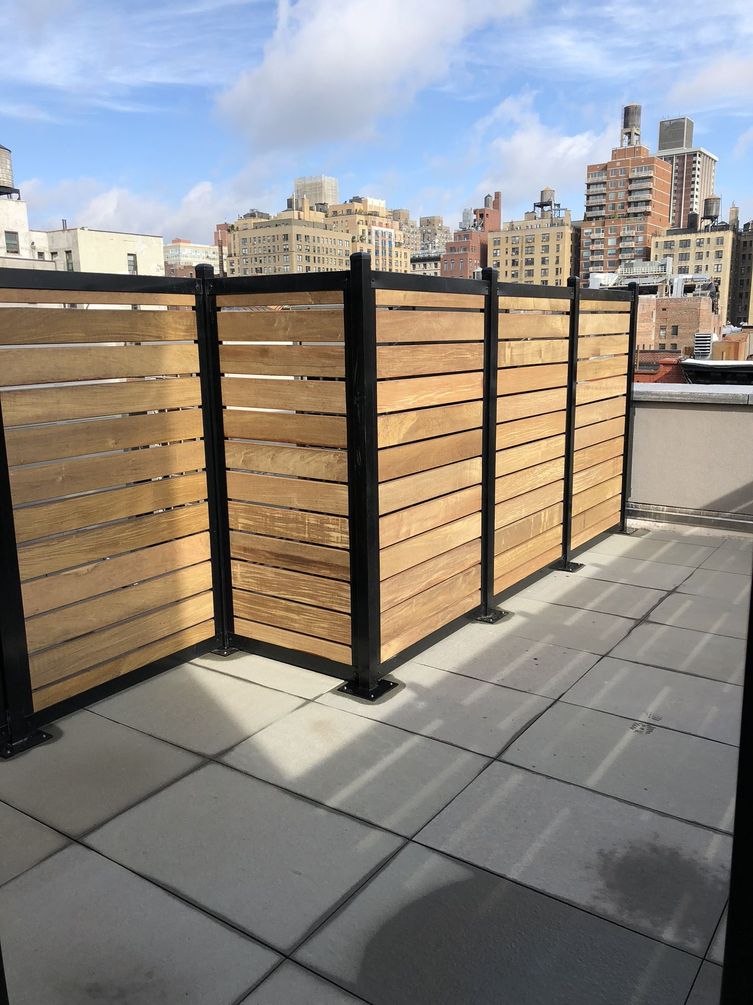 beautiful and strong ipe wood in a fencetrac frame from on inexpensive way to build a wood privacy fence diy guide for 2020 id=31201