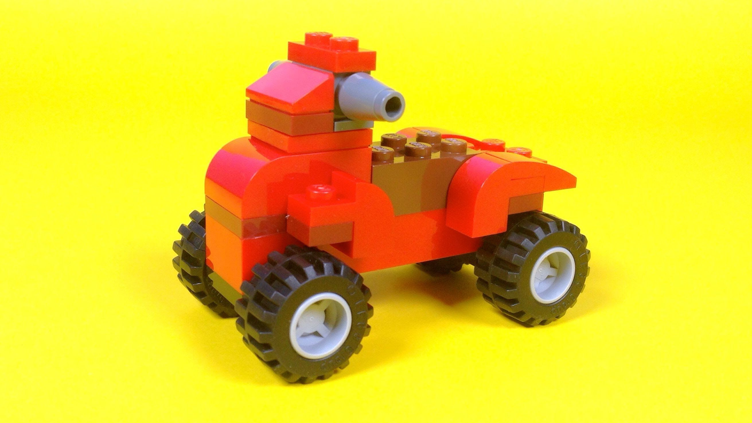 Lego Quad Bike Building Steps Lego Classic 10696 How To Lego Classic Lego Quad Bike