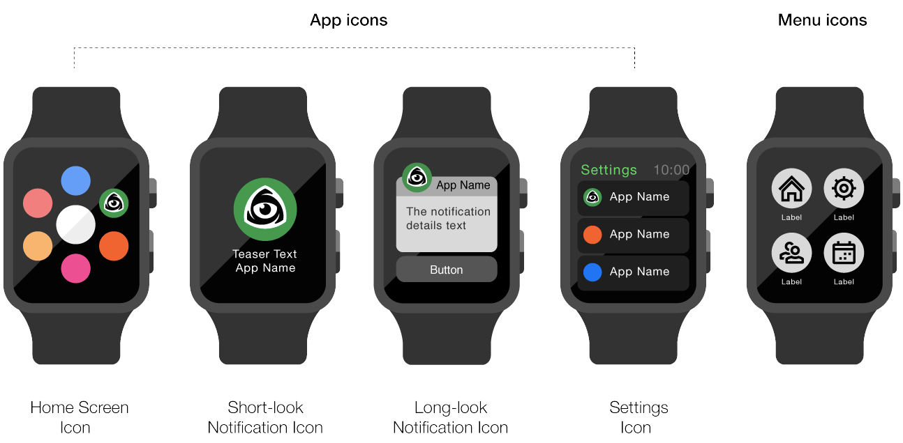 Icons For Apple Watch The Definitive Guide Apple Watch Apple Icon