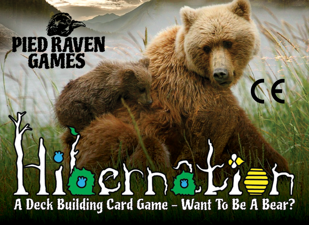 Hibernation is a strategic deck building card game about bears.Take on the role of a bear competing for enough food to sleep all winter. It's fast paced