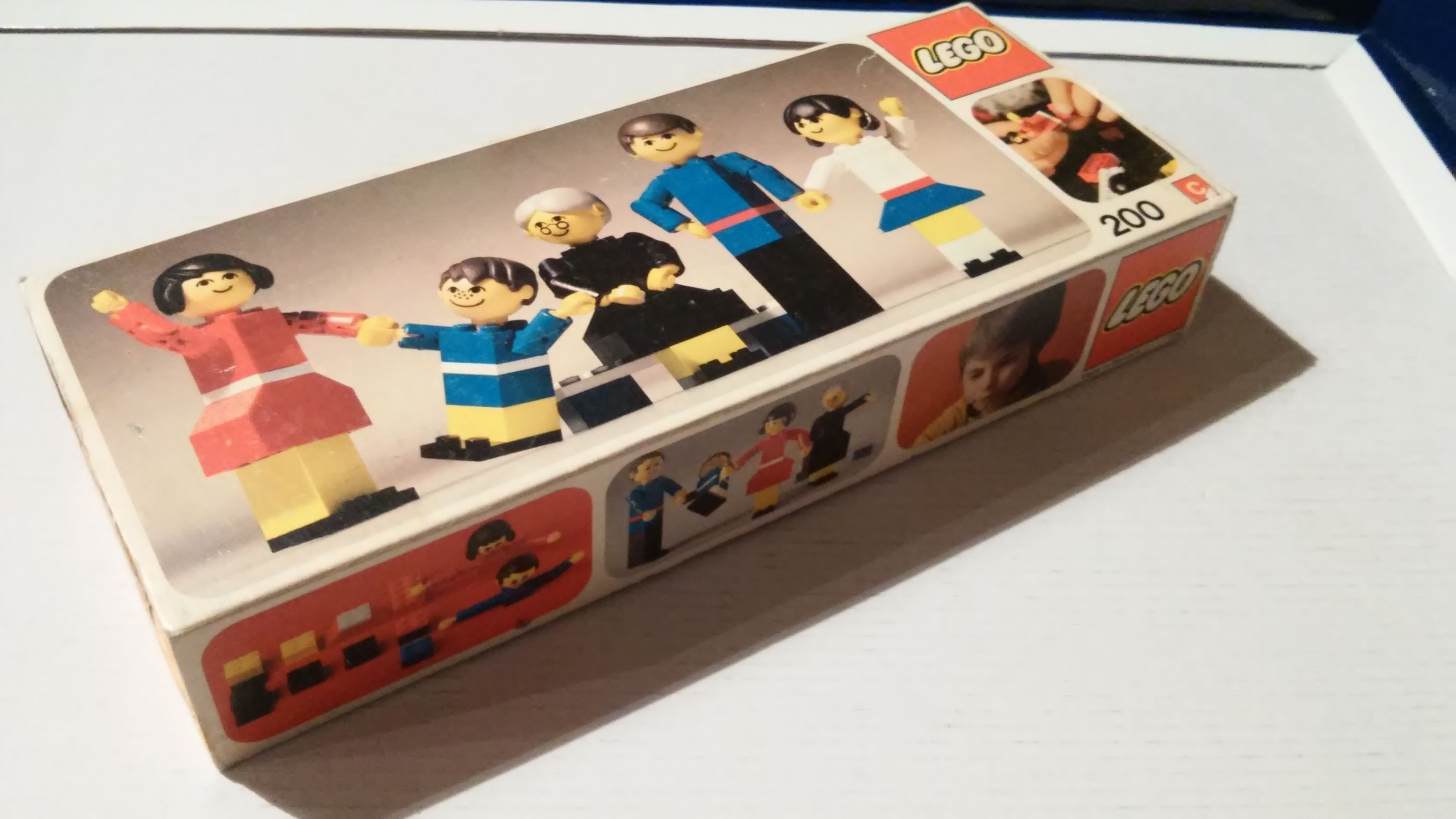 Lego Family Set 200 With Original Box And Instructions For Sale