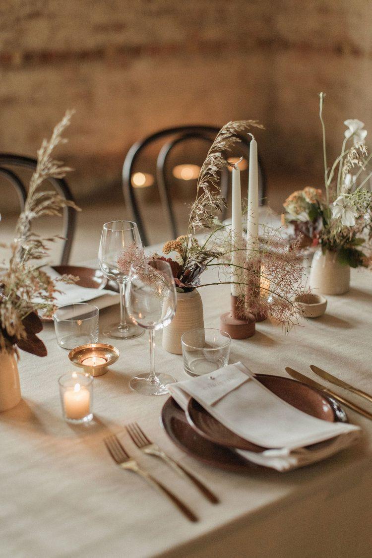 Hilde Considered Wedding Planning Design London Uk Litha Flower Workshop With Wedding Floris In 2020 Wedding Decor Style Wedding Table Settings Wedding Table