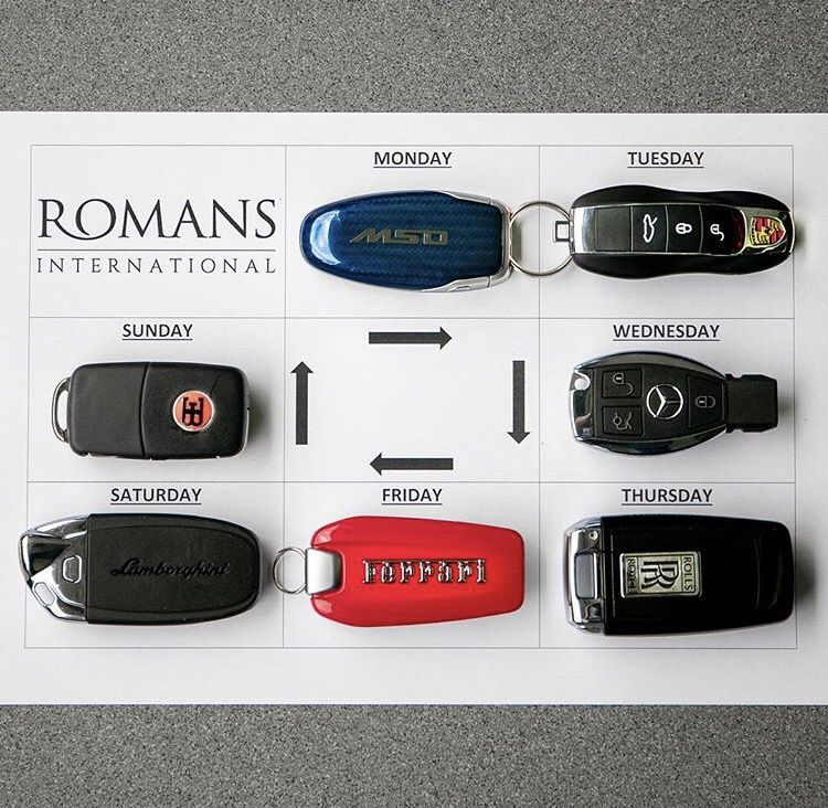 How Would You Plan Your Week? 🔑 #McLaren #Porsche