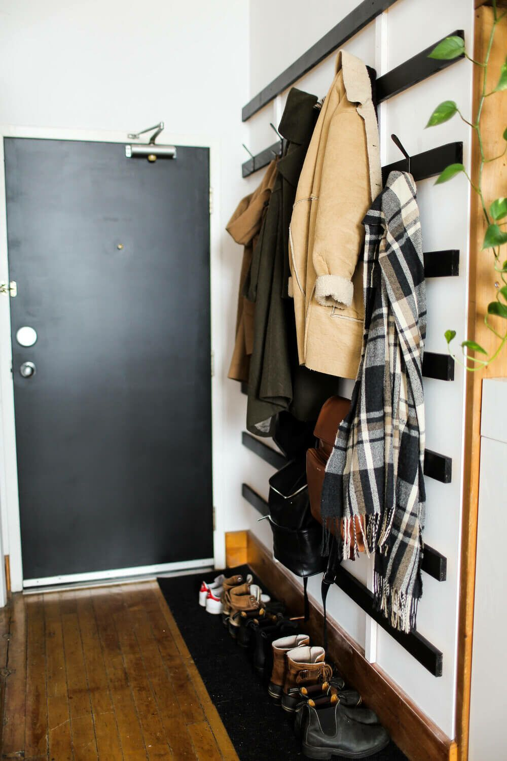 21 Super Cool Coat Rack Ideas You'll Want In Your Home in