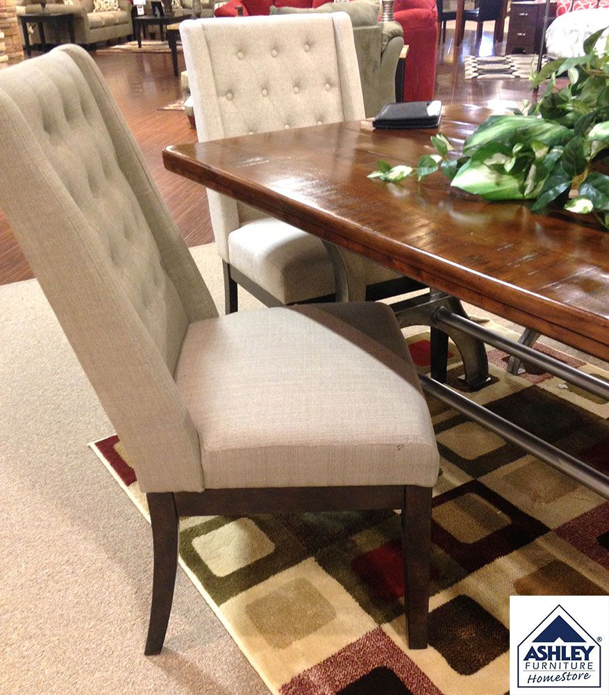 Ranimar Dining Room Chair Colors Medium Brown Beige With Its