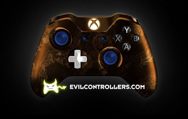 XboxOneController-OrangeZombieHazard   Flickr - Photo Sharing! #XboxOneController #Xbox1Controller #xbox1 #xboxOne #customcontroller #customxboxonecontroller #customxbox1controller #moddedcontroller #moddedxboxonecontroller #moddedxbox1controller