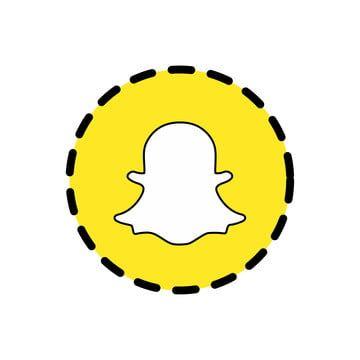 تصميم عنصر رمز المثال التوضيحي حديث Snapchat رمز قالب ناقلات خلاصة الكبار فن بس الخلفية أسود ضربة أزرق كتاب بوم فقاعة ف Snapchat Icon Icon Design Location Icon