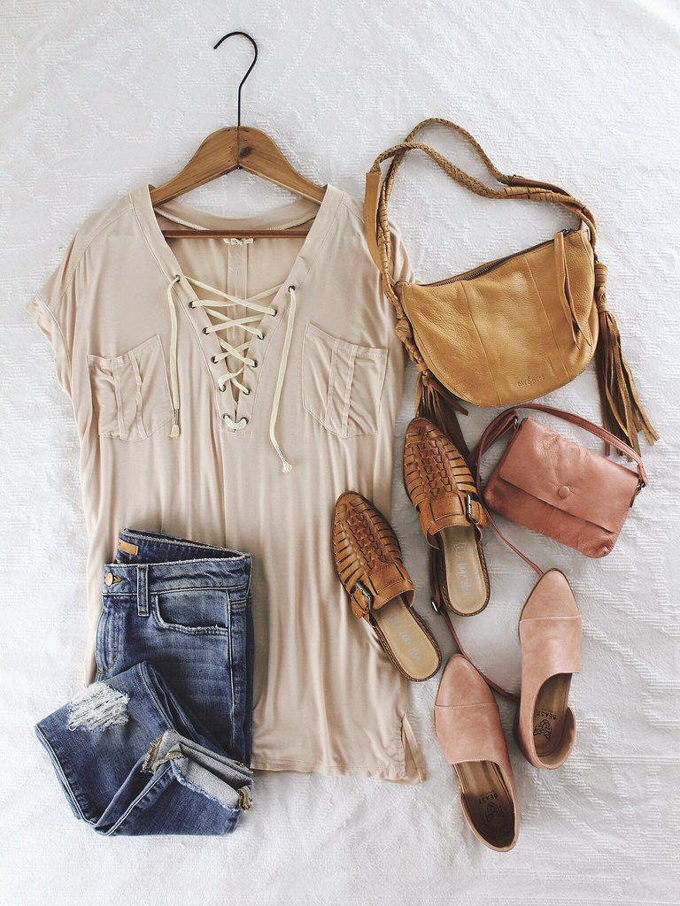 4888eb559 Jersey Lace-Up Top