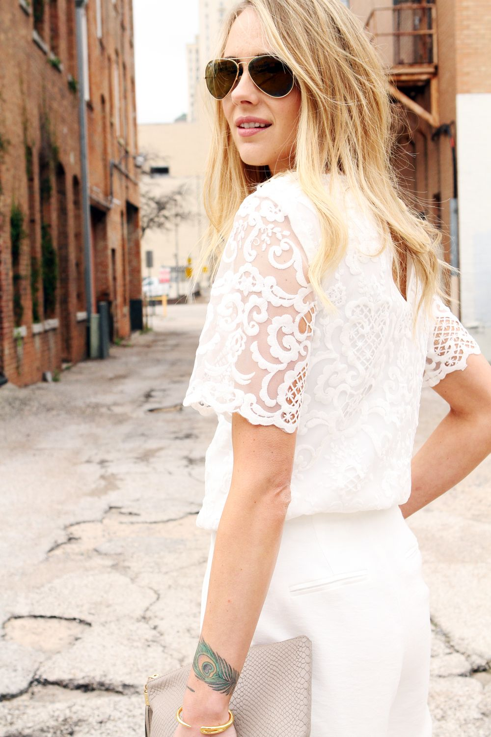1b19d277bb french connection nebraska lace tunic top