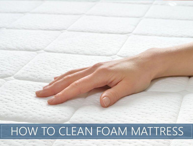 How To Clean Foam Mattress Topper In 3 Easy Steps The Sleep Advisor Clean Foam Mattress Mattress Cleaning Foam Mattress