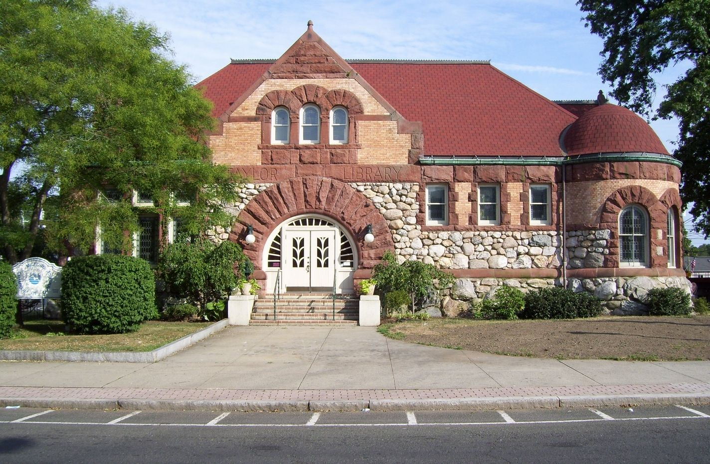 Old Taylor Library, Milford, CT