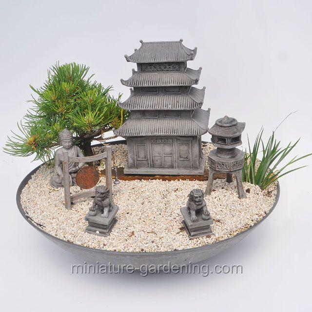 Pagoda Garden Fairygarden Fairyhouses Pagoda Garden Miniature Zen Garden Zen Garden