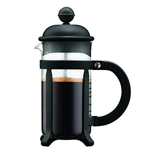 Bodum 1903 01 3 Cup Java French Press Coffee Maker 12 Oz Black French Press Coffee French Press Coffee Maker Coffee Press