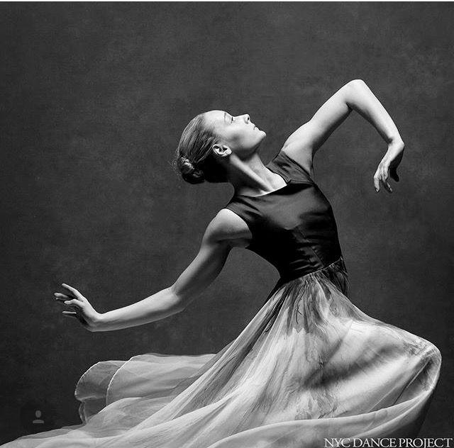 How graceful she looks.