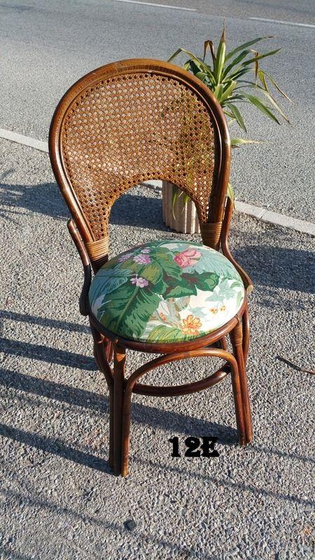 Chaise Rotin Vintage Home Decor Furniture Decor