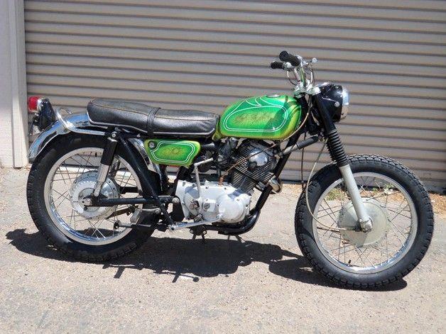 jim morrison's 1968 honda 305 scrambler was found on craigslist