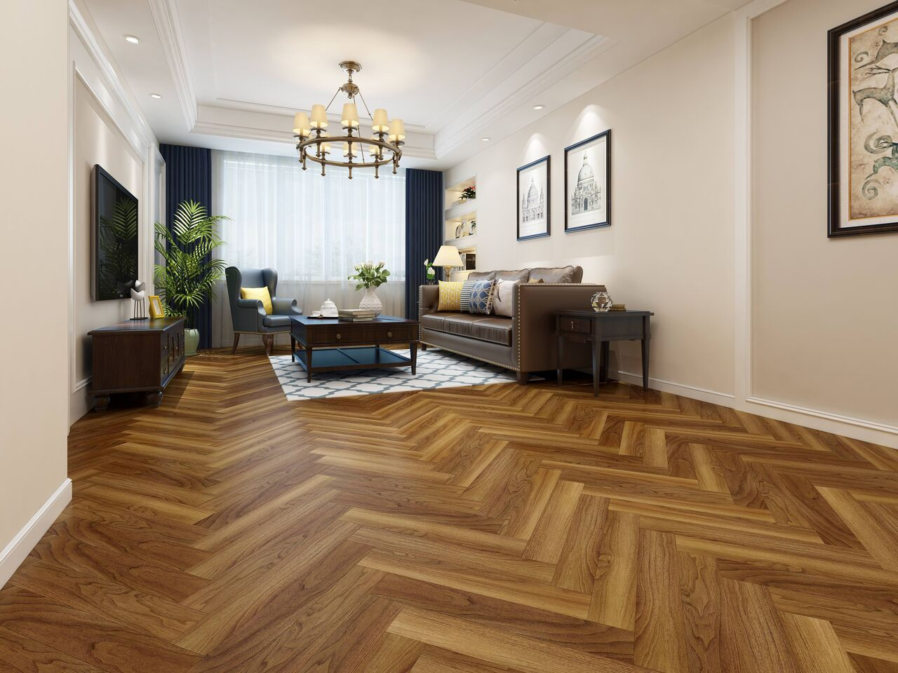 New Herringbone Laminate Flooring Coming Soon