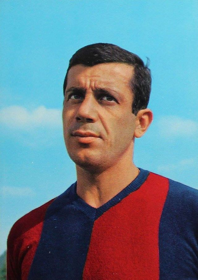 Francesco Janich Of Bologna In 1962 1960s Football