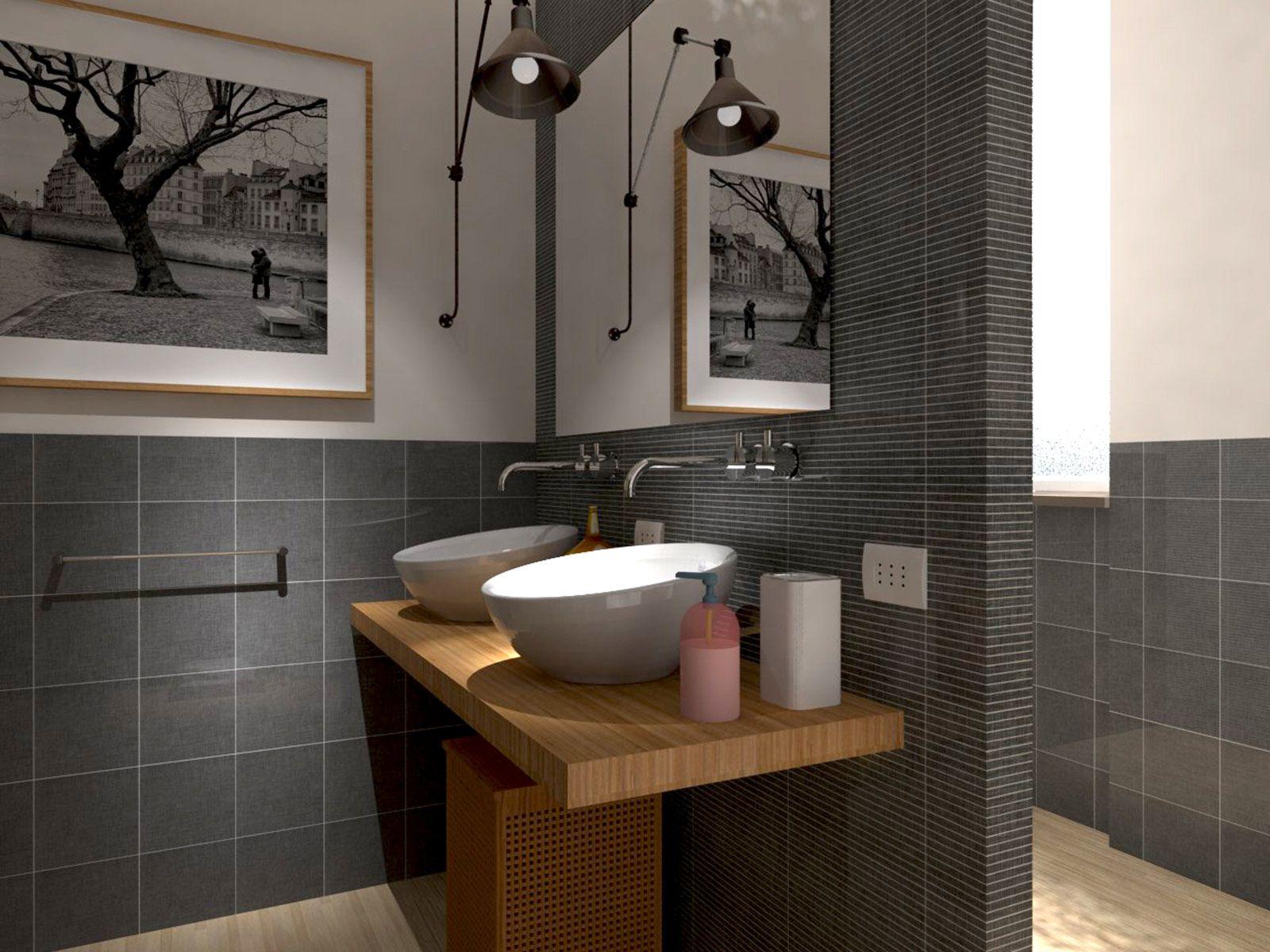 Bagno Progetto ~ Progetto arredamento interni bagno di giciarch su dawanda