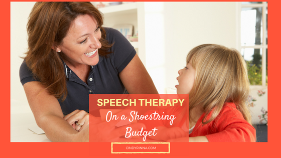 Speech Therapy on a Shoestring Budget Pediatric