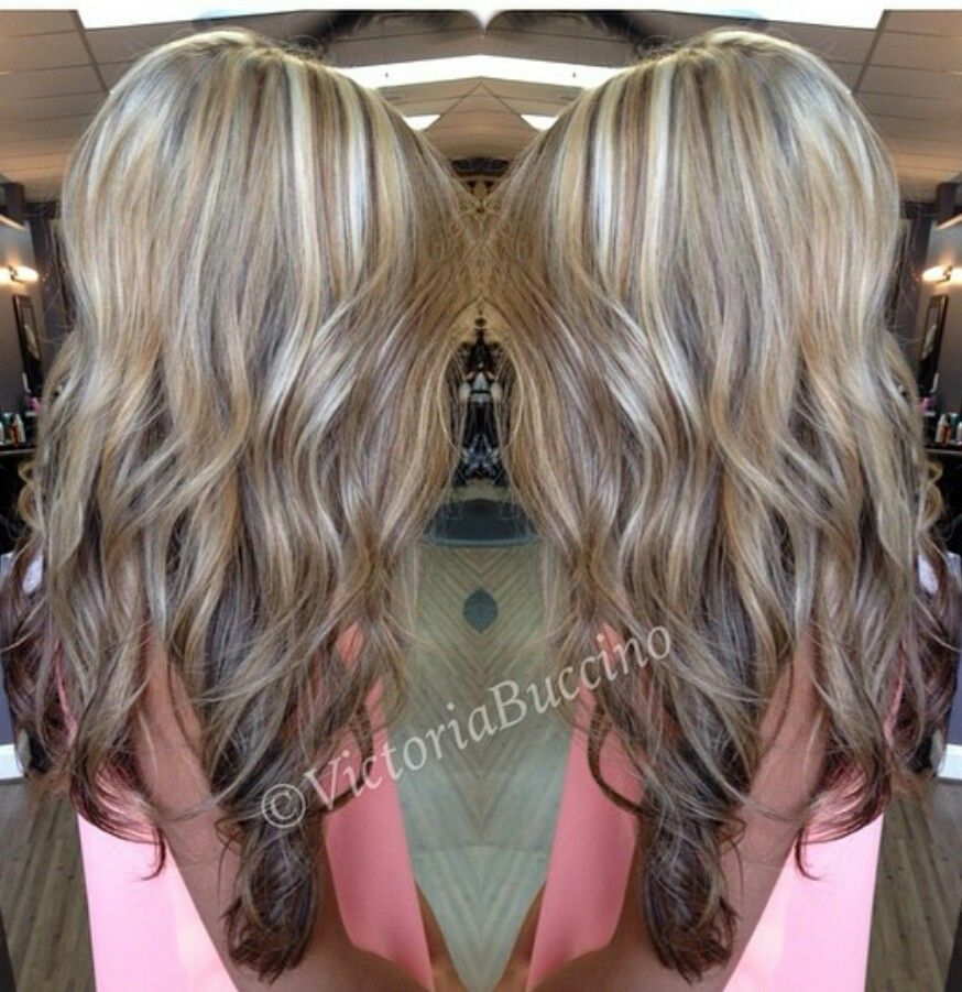 Reverse ombre with highlights and lowlights my hair pinterest