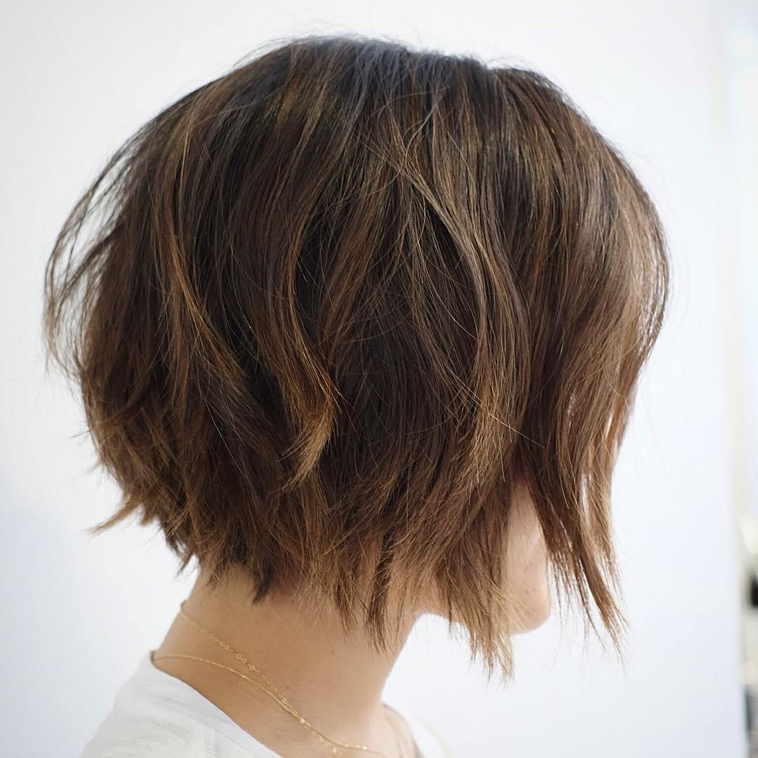 30 Trendiest Shaggy Bob Haircuts Of The Season Messy Bob Hairstyles Shaggy Bob Haircut Hair Styles