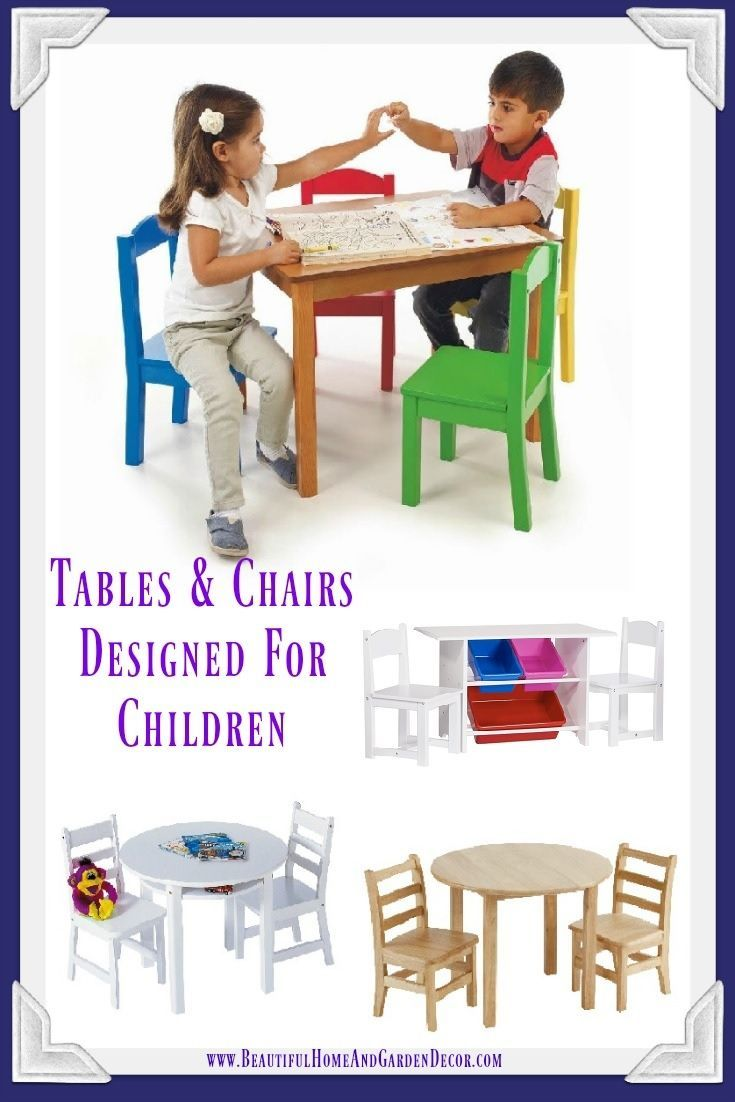 Game Tables and Chairs for Children   Game tables and Child