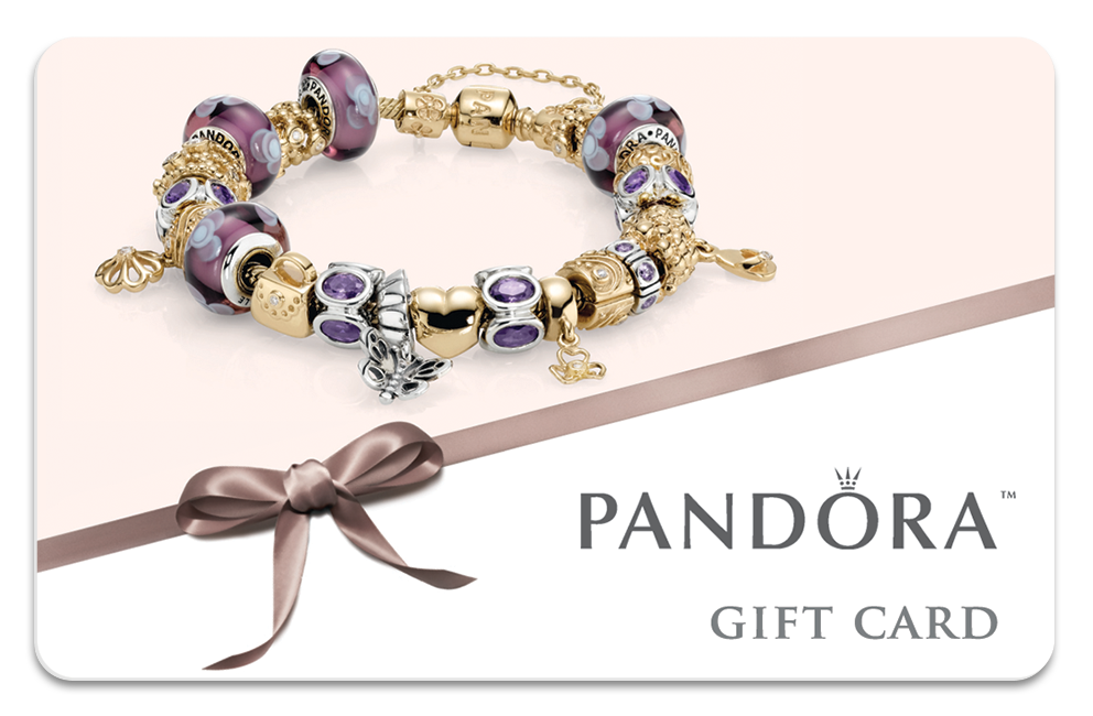 Use Pandora Gift Card Online