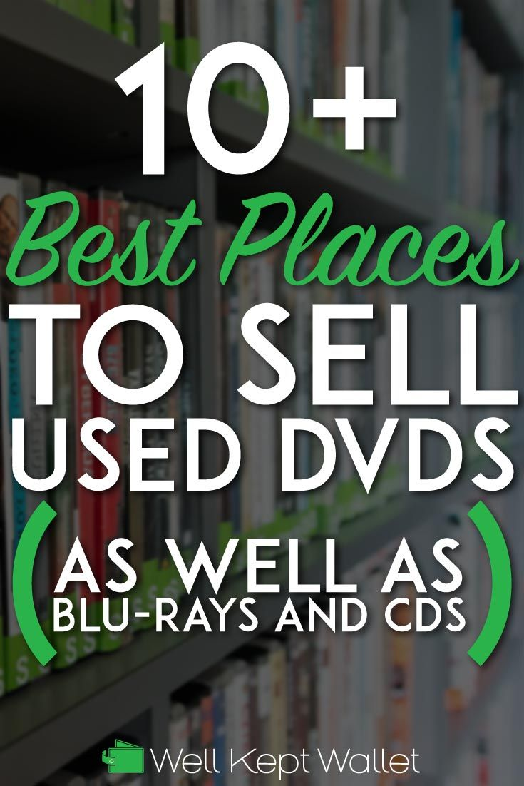 Used Dvds For Sale >> 12 Great Places To Sell Used Dvds For The Most Money Sell
