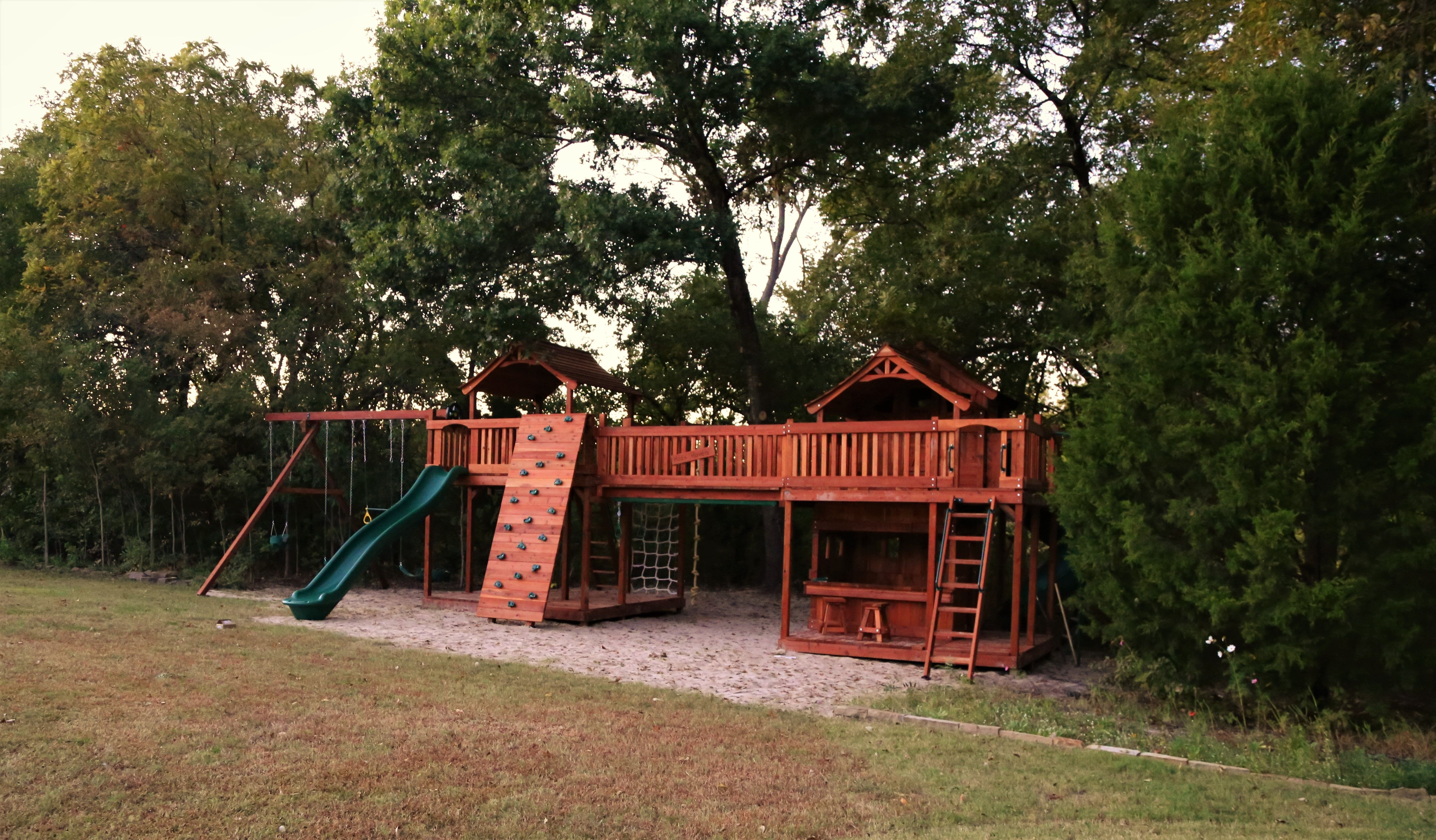fort stockton with lower cabin and lemonade stand fun deck w wrap