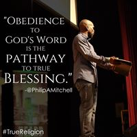 Obedience to God's Word is the pathway to True blessing.