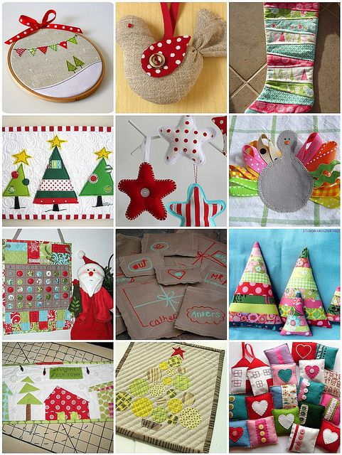 Holiday sewing crafts