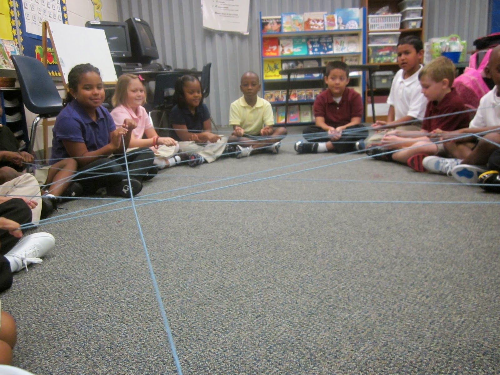 Tangled Web TeamBuilding Activity (The Frugal Teacher