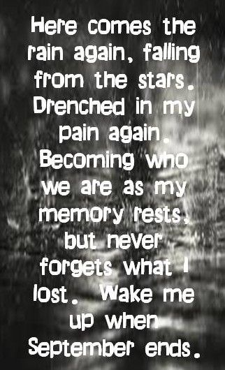 Here Comes The Rain Again Falling From The Stars Pin On Poetry And Song Lyrics