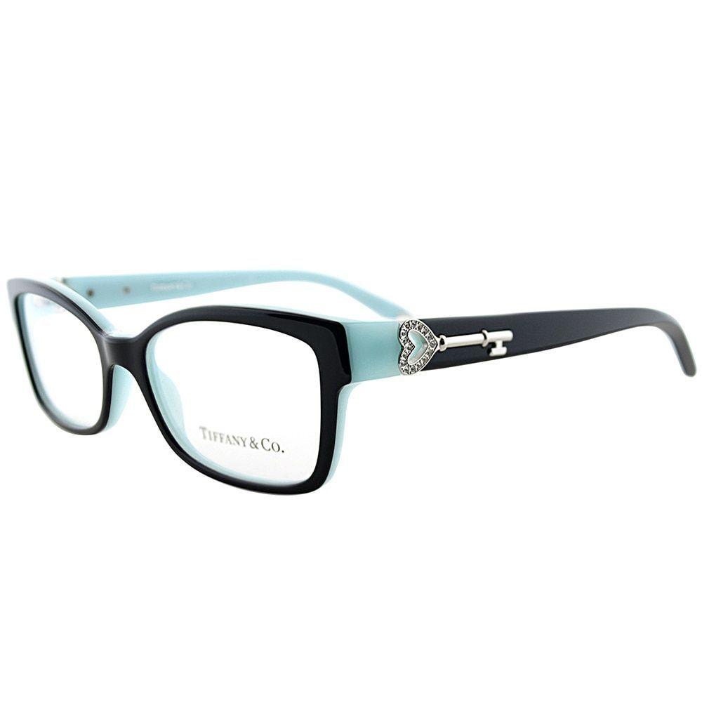 b37ab0c09c Tiffany TF 2064B 8055 on Tiffany Blue 51-millimeter Rectangle Eyeglasses