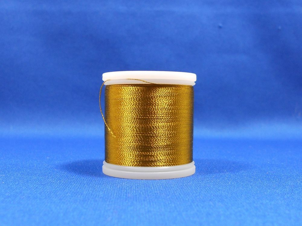 Madeira Embroidery Rayon Thread 1192 Temple Gold