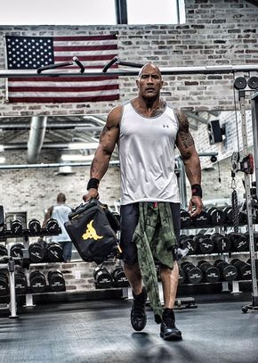 Dwayne Johnson S New Ad Will Make You Run To The Gym Immediately The Rock Dwayne Johnson The Rock Workout Bicep And Tricep Workout