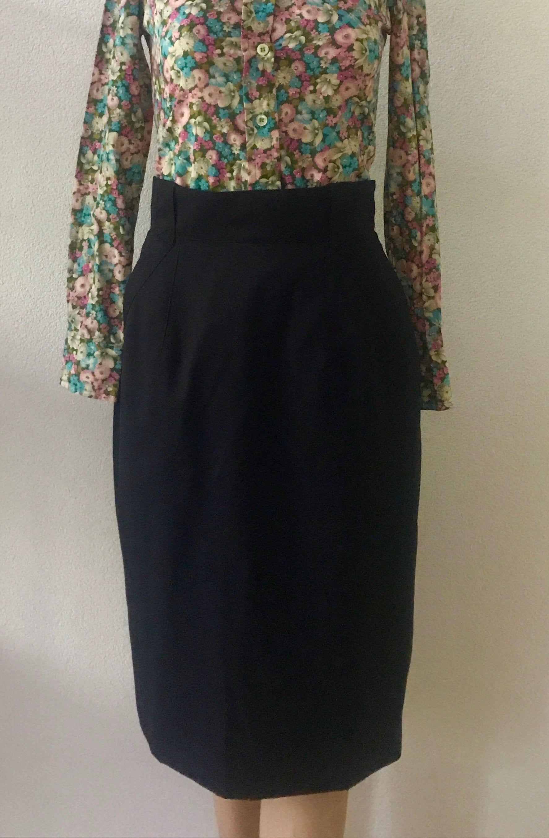 Ongekend Vintage hoge taille rok   Joop!   kokerrok   eighties rok DE-67