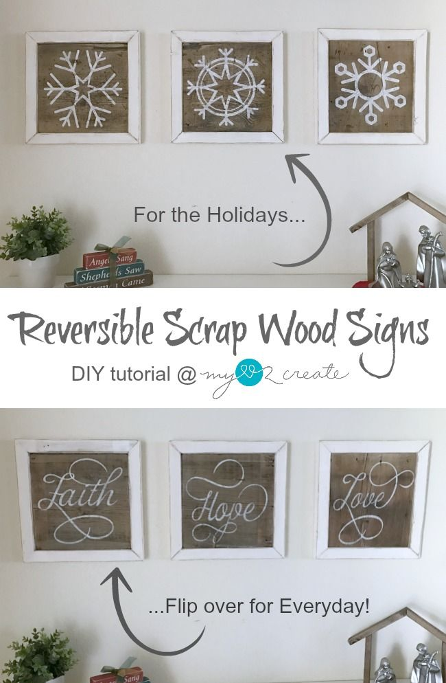 Make Your Own Decorative Scrap Wood Signs They Are Super Easy And Delectable Make Your Own Decorative Sign